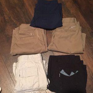 Boys shorts 5 pair bundle size S/8